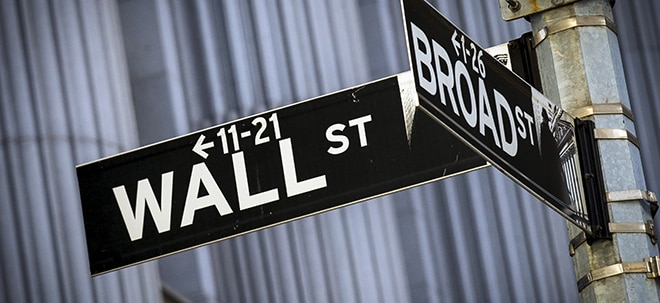 Aktien New York Schluss: Anleger an der Wall Street bleiben optimistisch